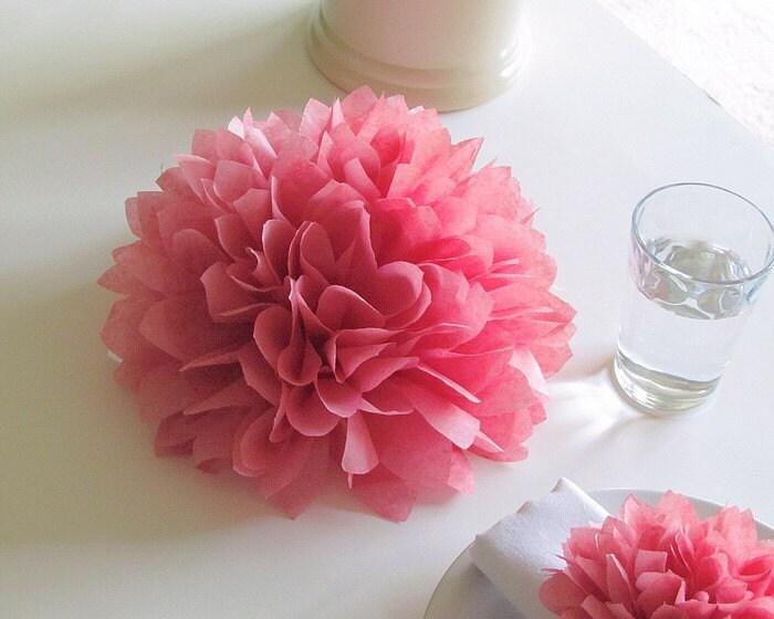 Centerpieces Tissue Paper Flowers