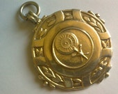 Sterling Silver Antique Fob... 1950s Darts