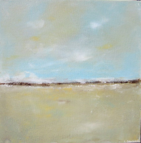 Abstract Landscape Original Art- Frederikssund 16 x 16