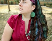 Herb Mother Gypsy Wrap, size M or L  - Gypsy Wraps by Julie Bartel:  yoga headband, hair wrap, dread wrap, pre tied bandana