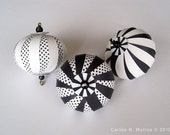 Paper Ornament Kit - Black/White