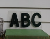 Small Black Plexi letters