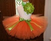 Tutu, Toddler Tutu, Halloween Lil' Pumpkin tutu for costume