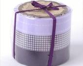 Japanese Masking Tape-Washi Tape-Decorative Tape-Violet Grid-3 roll set