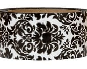 Packing Tape-Tape-Deco Tape-Mailing Tape-Black Damask