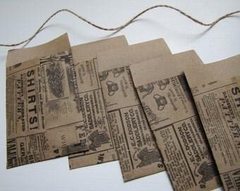 Kraft-Vintage Style Envelopes-Stationary-Kraft Paper-Packaging