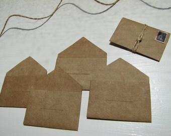 Envelope-Kraft Envelope-Thank You Envelopes-Brown Kraft Paper-DIY