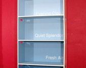 MODULAR PAINT CHIP BOOKSHELF - modern colorful bookshelves shelf storage cnc