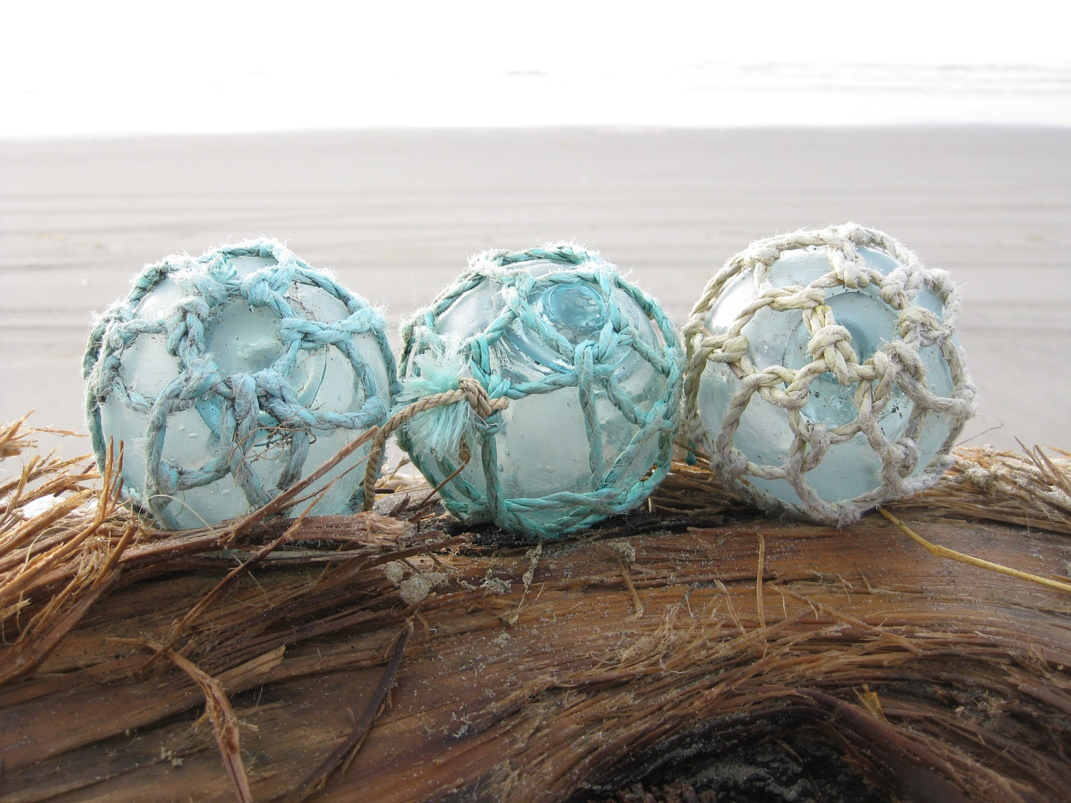 Japanese glass fishing floats original nets alaska for Fishing net floats