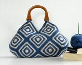 NzLbags New - Summer Bag Afghan Crochet Bag, Handbag - Shoulder Bag Nr-0179