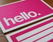 hello HOWDOO business cards