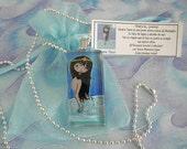 Omaira Taina Glass Jewelry Pendant