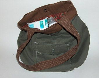 Cargo bag with a lining of your choice