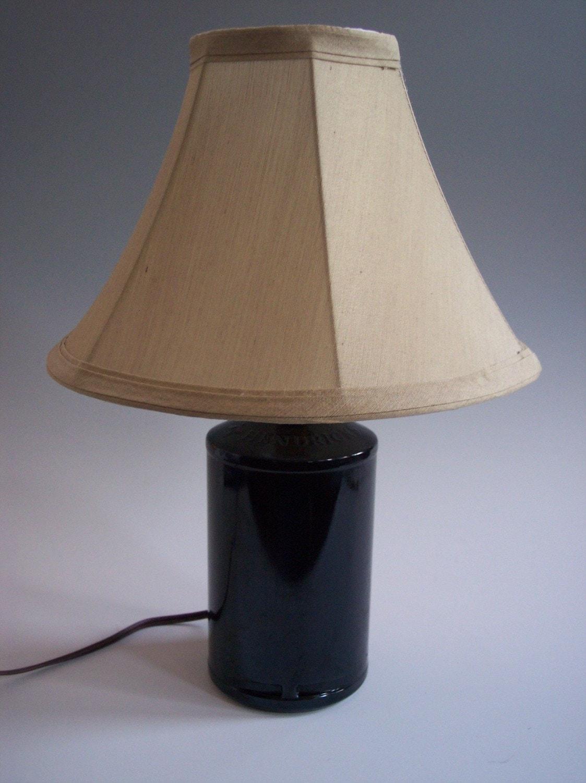 Upcycled Hendrick S Gin Glass Bottle Table Lamp