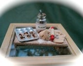 DOLLS HOUSE MINIATURES  - 1/12th Making Mince pies Set