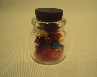 Dolls House Miniatures - Jar of Boiled Sweets