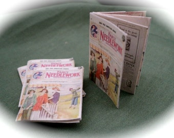 DOLLS HOUSE MINIATURES - 1/12th Period Sewing Magazine