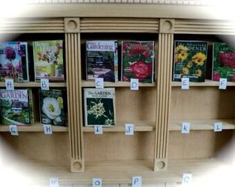 DOLLS HOUSE MINIATURES - 1/12th Gardening Magazine x1 (assorted Magazines)