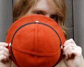 Pumpkin Orange Vintage Hat
