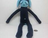 Dark Blue Sock Lamb
