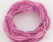 Bump Chenille 9 Yards of 3 Inch Dusty Rose Bump Chenille