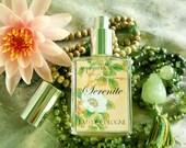 Natural Cologne SE'RE'NITE' perfume artisan cologne spray with neroli, tuberose, white tea, orange leaf, vetiver root
