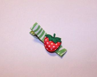 Fun Strawberry Hair CLippie/infant/toddler/girl/non slip/One Dollar