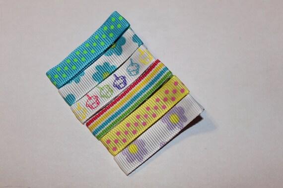 Birthday Hair CLippie Collection/non slip/infant/toddler/girl