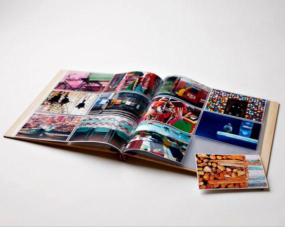 Photo Album | Wood Wedding Album | Engagement Gift | Birthday Gift | Wood Anniversary | Baby Book | 4x6