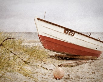 Boat on a Beach - Fine Art Photography Print