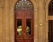 Old door in Montevideo