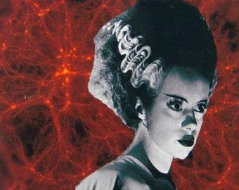 The Bride of Frankenstein on Blood, Halloween decor