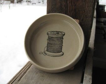 Thread spool bowl