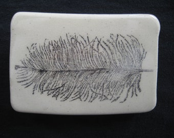 Feather Plume Belt Buckle