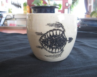 Turtle Skeleton Mug