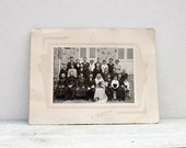 Vintage Wedding Photograph, A French wedding photo dating back to 1933