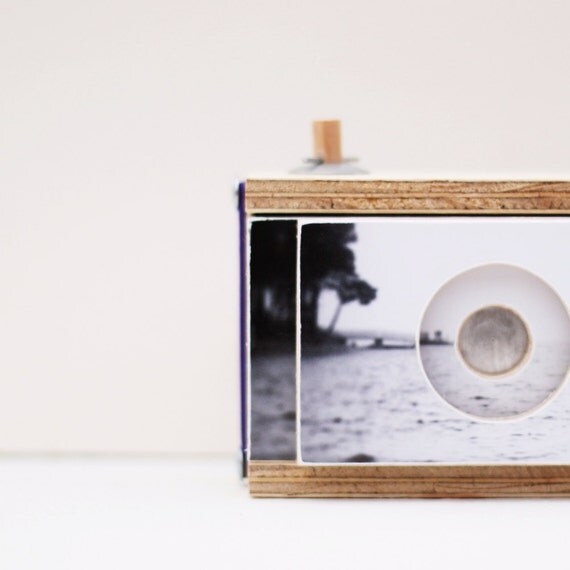 SALE Pinhole Camera for 120mm film takes square images - included a 120 film