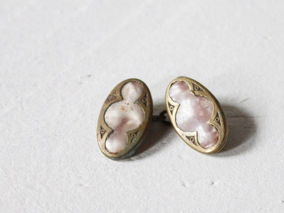 Antique French cuff link