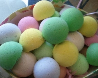 100 Bath Bomb Shea & Cocoa butter Fizzies 1 oz each choose from 100 fragrances (pick up to 10 scents)