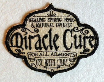 "Miracle Cure Iron on Patch 3.90"" x 3"""