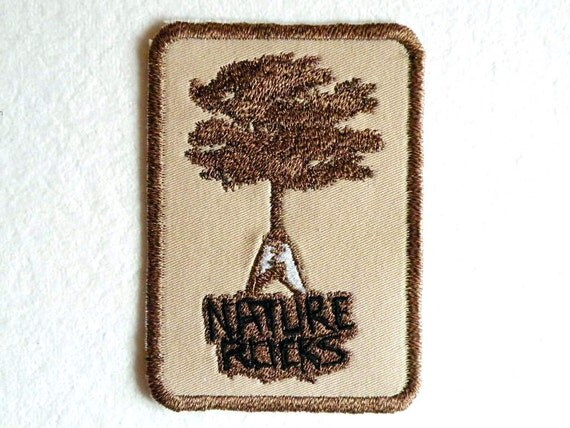 Nature Rocks Iron on Patch