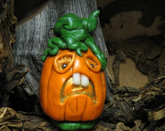 Halloween Pumpkin Jack-O-Lantern Scary Scared creepy
