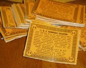 Antique Cigar Tobacco Cards Lot 50 Willard  40s  Advertising Tobacciana