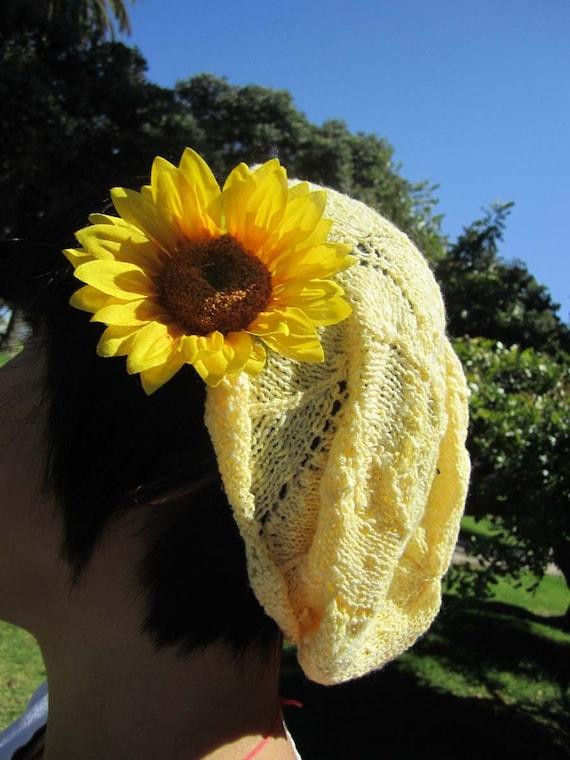 Sunflower Yellow Cotton Hat