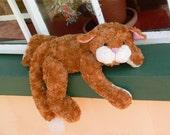 Artist Cat Teddy Bear PDF Sewing Pattern - Yawn