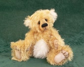 Teddy Bear PDF Downloadable Sewing Pattern Zac by Megan Wallace