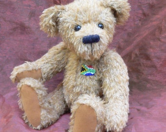 Artist Teddy Bear PDF Sewing Pattern - Johnny