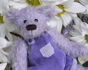 Miniature Teddy Bear PDF Sewing Pattern - Junior by Megan Wallace