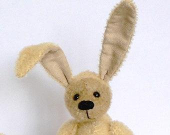 Easter bunny teddy bear PDF sewing pattern - Basil