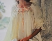 Smocked Front Nightgown Pattern